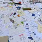 What Do You Do With All Your Business Cards? Image