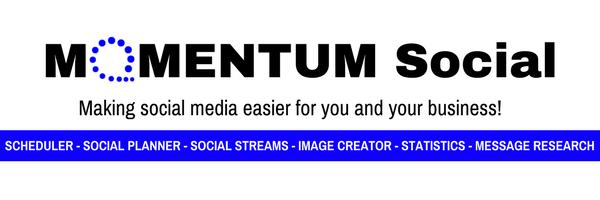 MOMENTUM Social Header