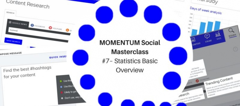 MOMENTUM Social Masterclass #7 – Statistics Basic Overview