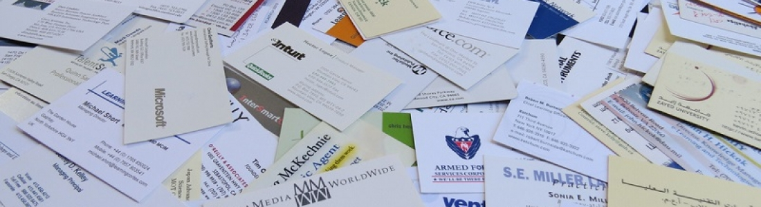 What Do You Do With All Your Business Cards?