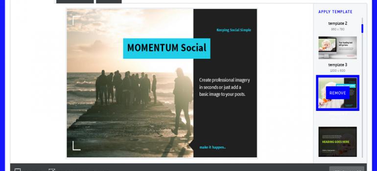 MOMENTUM Social Portal Image